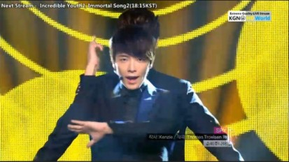 120811 Music Core Donghae